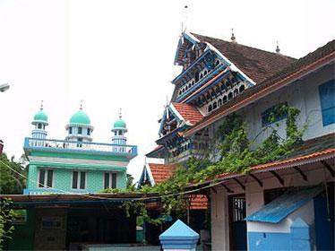 ponnani juma masjid in cochin